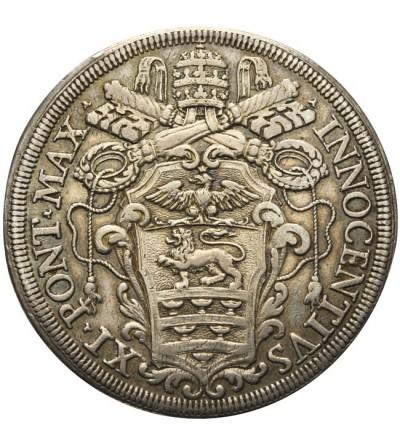 Watykan, Piastra bez daty, Rzym, Innocenty XI 1676-1689
