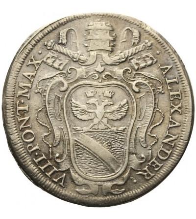Watykan teston bez daty (1689), Rzym