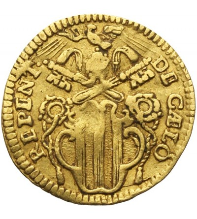 Watykan 1/2 cekina 1741, Benedykt XIV