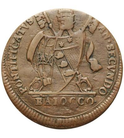 Watykan 1 baiocco 1802 IIR, Pius VII