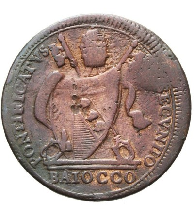 Papal States - Vatican, 1 baiocco 1802 IIR, Pius VII