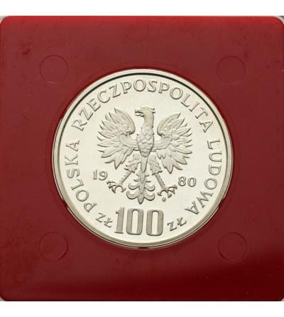 100 złotych 1980, Moskwa 1980 - próba