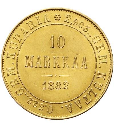 Finlandia 10 marek 1882 S