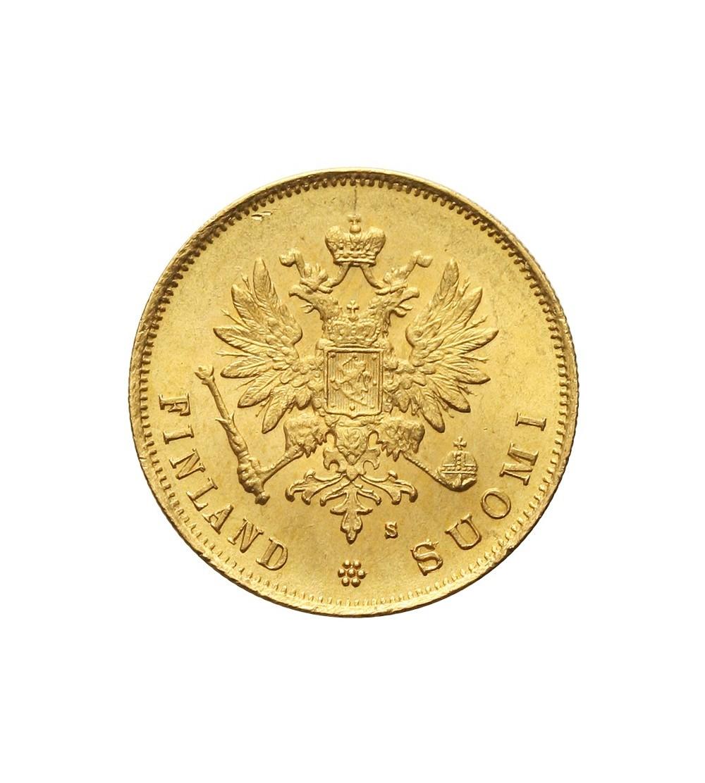 Finlandia 10 marek 1881 S