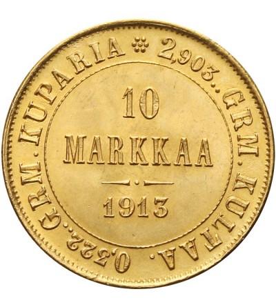 Finlandia 10 marek 1913 S