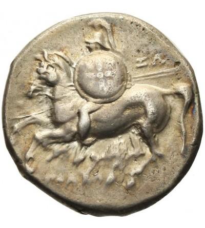 Kalabria. Tarent. AR Didrachma 288 - 272 r. p.n.e.
