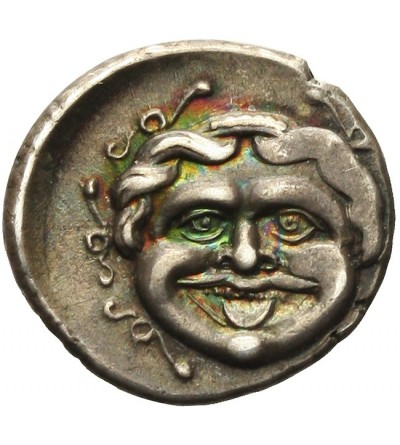 Myzja (Mysia). Parion AR Hemidrachma 400/300 r. p.n.e