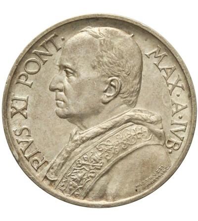 Watykan 5 lire 1933-1934, Pius XI