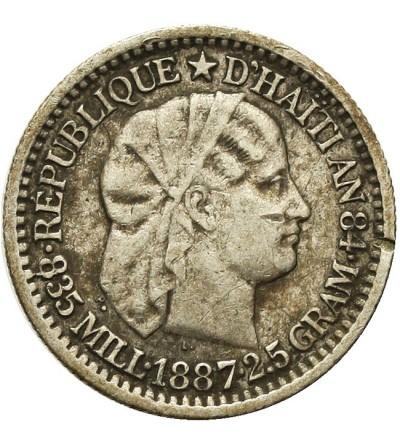 Haiti 10 Centimes 1887