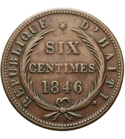Haiti 6 centimes 1846 / AN 43