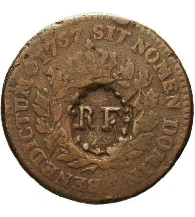 Gwadelupa 3 sols 9 deniers 1793 (1767)