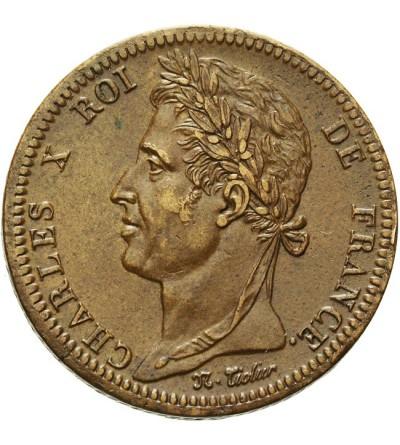 Francuskie Kolonie 10 centimes 1828 A