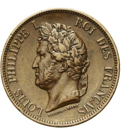 Francuskie Kolonie 10 centimes 1843 A