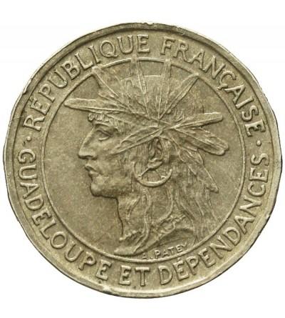 Gwadelupa 50 centimes 1921