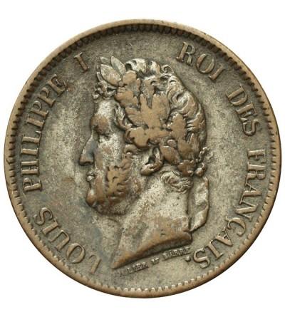 Francuskie Kolonie 5 centimes 1843 A
