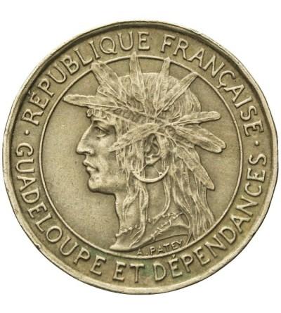 Gwadelupa 1 frank 1921