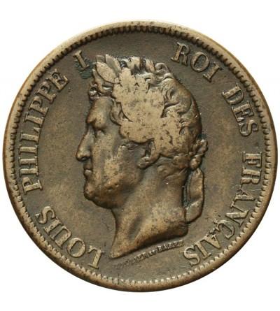 Francuskie Kolonie 10 centimes 1844 A
