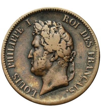 Francuskie Kolonie 5 centimes 1839 A