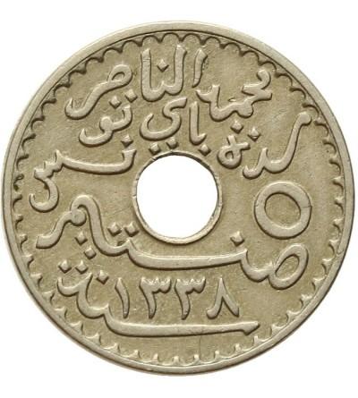 Tunezja 5 centimes 1920