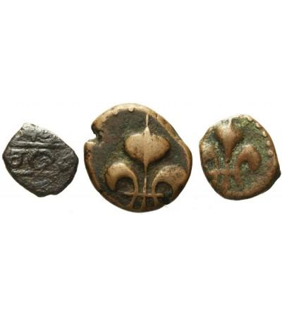 Indie Francuskie Casche (1740), 1/2 i 1 Doudou bez daty (1720-1835)