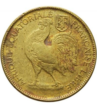 Francuska Afryka Równikowa 1 frank 1942