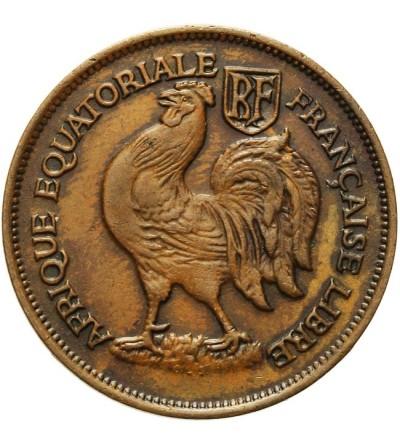 Francuska Afryka Równikowa 1 frank 1943