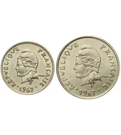 Francuska Polinezja 10 i 20 franków 1967