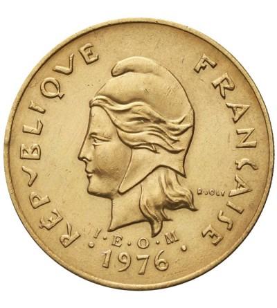 Francuska Polinezja 100 franków 1976