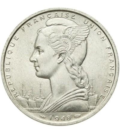 Francuska Somalia 5 frankóe 1948