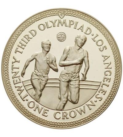 Wyspa Man 1 korona 1984, Olimpiada w Los Angeles