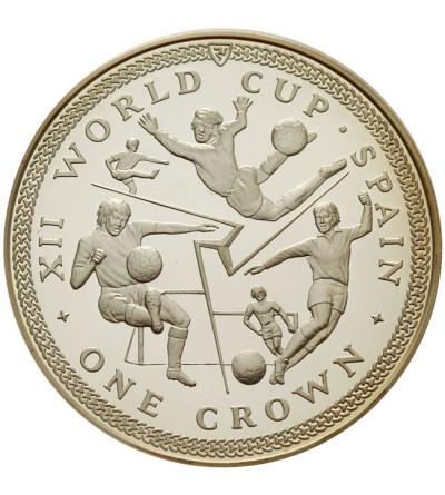 Wyspa Man 1 korona 1982, M.Ś. Hiszpania