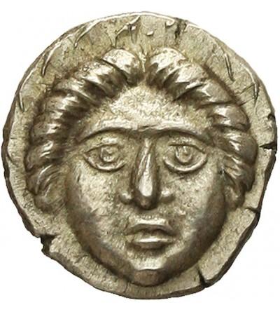 THRACE. Apollonia Pontika. AR Diobol Circa 350-300 BC