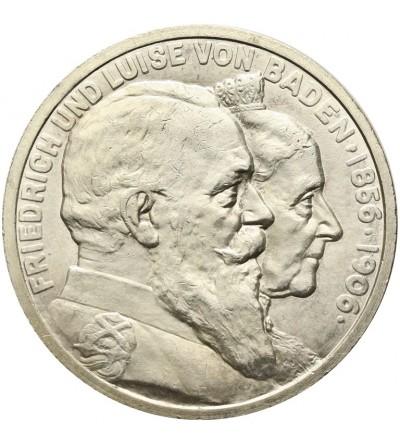Badenia 5 marek 1906, złote gody