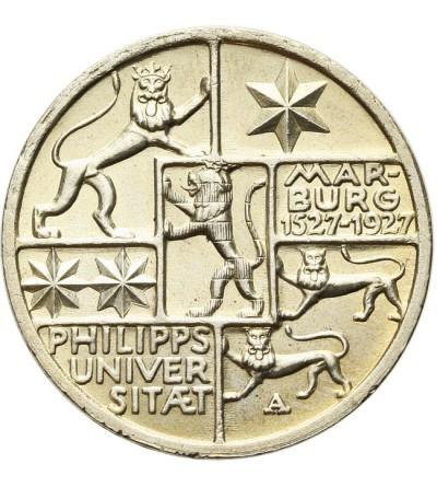 Weimar 3 mark 1927, Marburg