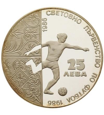 Bułgaria 25 lewa 1986