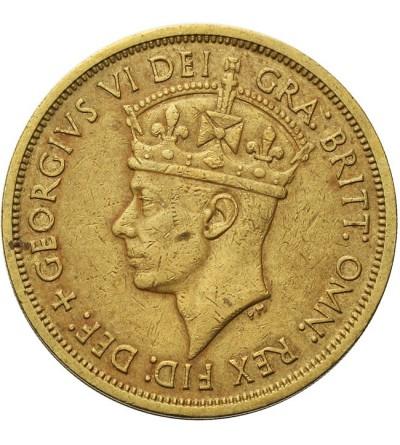 Brytyjska Afryka Zachodnia 2 szylingi 1949 KN
