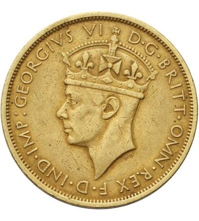Brytyjska Afryka Zachodnia 2 szylingi 1938 KN