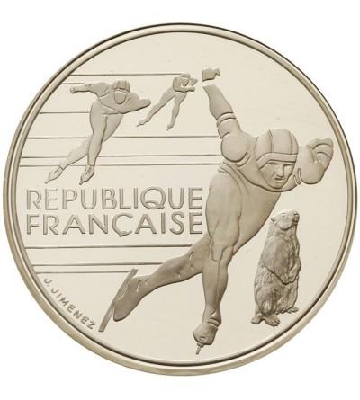 Francja 100 franków 1990 - Albertville 92