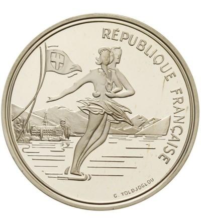 Francja 100 franków 1989 - Albertville 92
