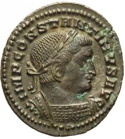 Konstantyn I Wielki 307 / 310-337. AE Folis 21 mm, Lyon
