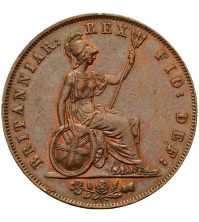Wielka Brytania 1/2 pensa 1827