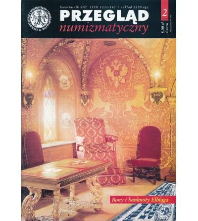 Przegląd Numizmatyczny nr. 37 - 2/2002