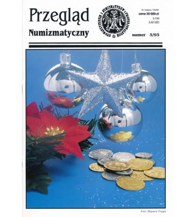 Przegląd Numizmatyczny nr. 03 - 1993
