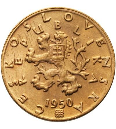 Czechosłowacja 50 halerzy 1950