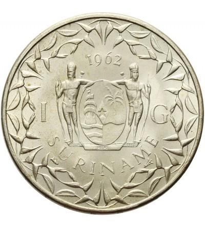 Suriname 1 gulden 1962