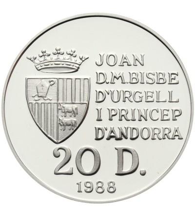 Andora 20 diners 1988, Igrzyska w Albertville