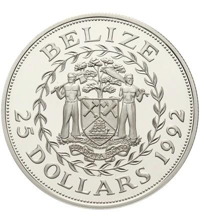 Belize 25 dolarów 1992, Igrzyska w Barcelonie