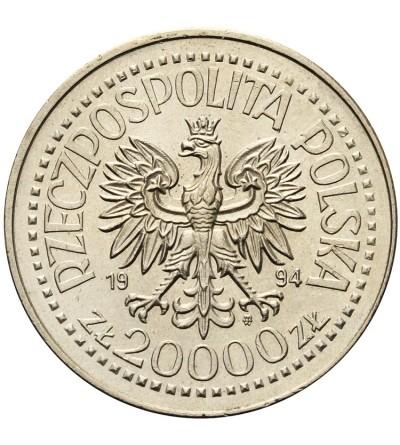 20000 złotych 1994, Zygmunt I Stary