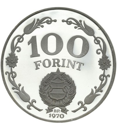 Węgry 100 forint 1970