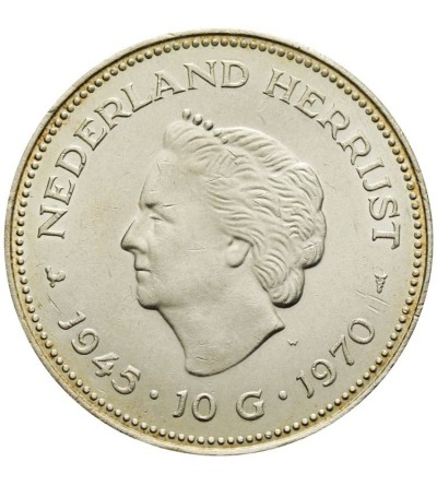 Holandia 10 guldenów 1970